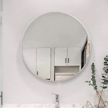 Gương tròn treo tường (kèm bộ treo) nhiều kích cỡ. Gương nhà tắm gương nhà vệ sinh gương trang trí