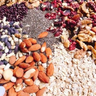 Ngũ cốc dinh dưỡng lợi sữa 16 loại hạt hộp 500g có đủ cnvsattp thumbnail