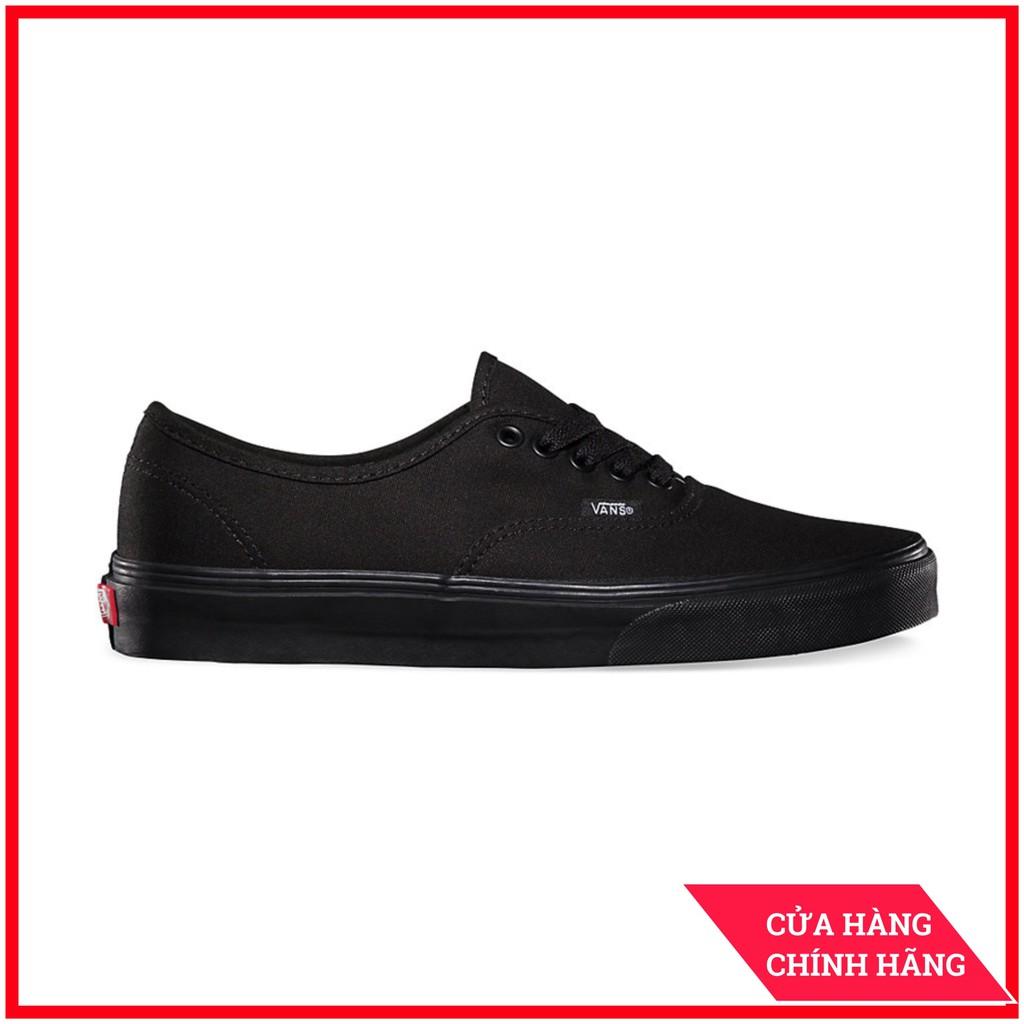 Giày Sneaker [REAL] Vans-Authentic-All-Black-VN000EE3BKA
