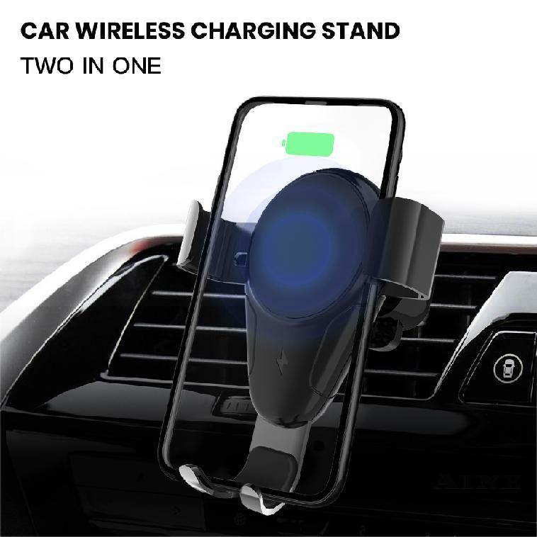 ที่ชาร์จโทรศัพท์แบบไร้สายติดตั้งกับรถยนต์ Gravity Air สำหรับ Vent iPhone Samsung 50