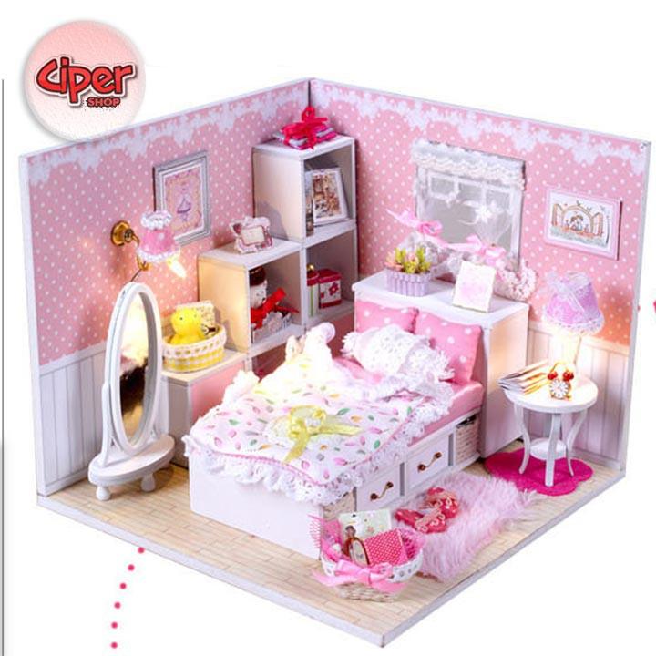 Nhà búp bê - Phòng Ngủ - Lắp ráp