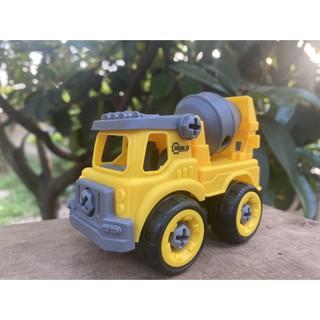 xe đồ chơi xây dựng lắp ghép. Nhựa ABS an toàn. Hàng đẹp không ọp ẹp. đồ chơi trẻ em sáng tạo rèn tư duy logic cho bé 8