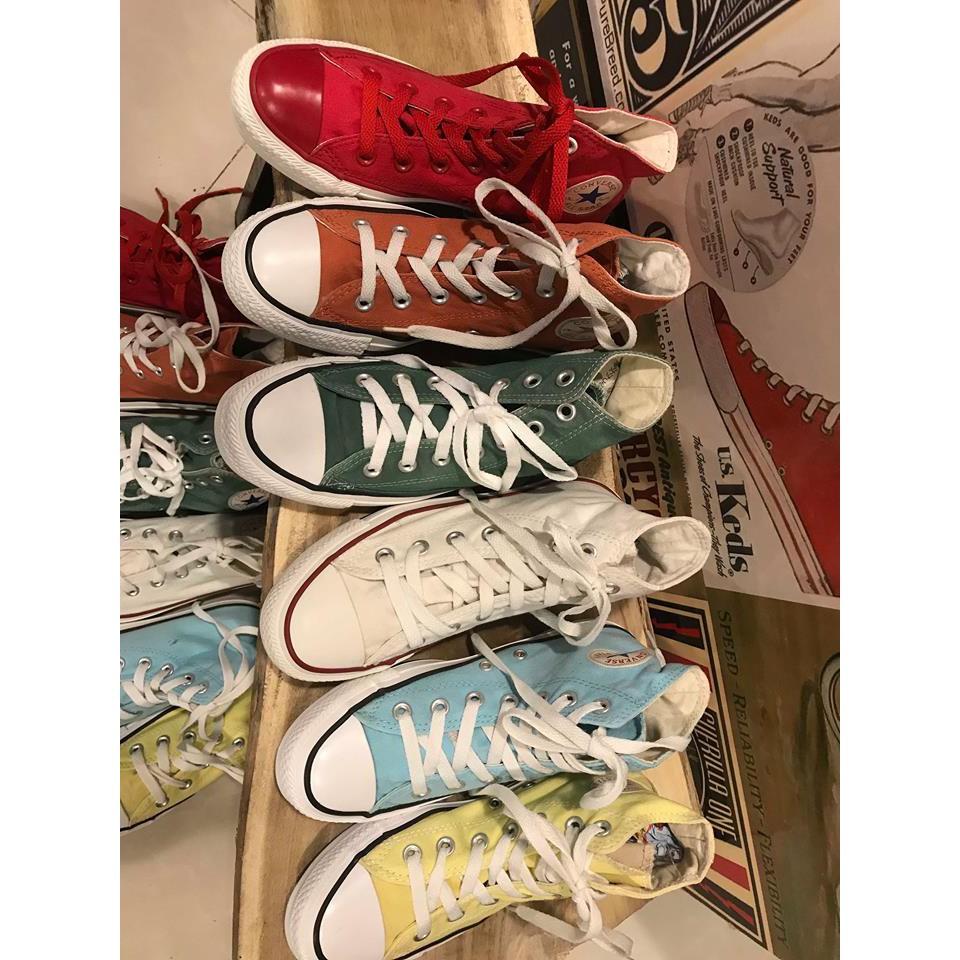 Giày Converse 5 màu (Real 100%/2Hand)