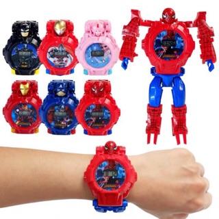 [Nhiều mẫu] Đồ chơi đồng hồ lắp ghép biến hình siêu nhân cực đẹp dành cho bé (dây đeo tay)