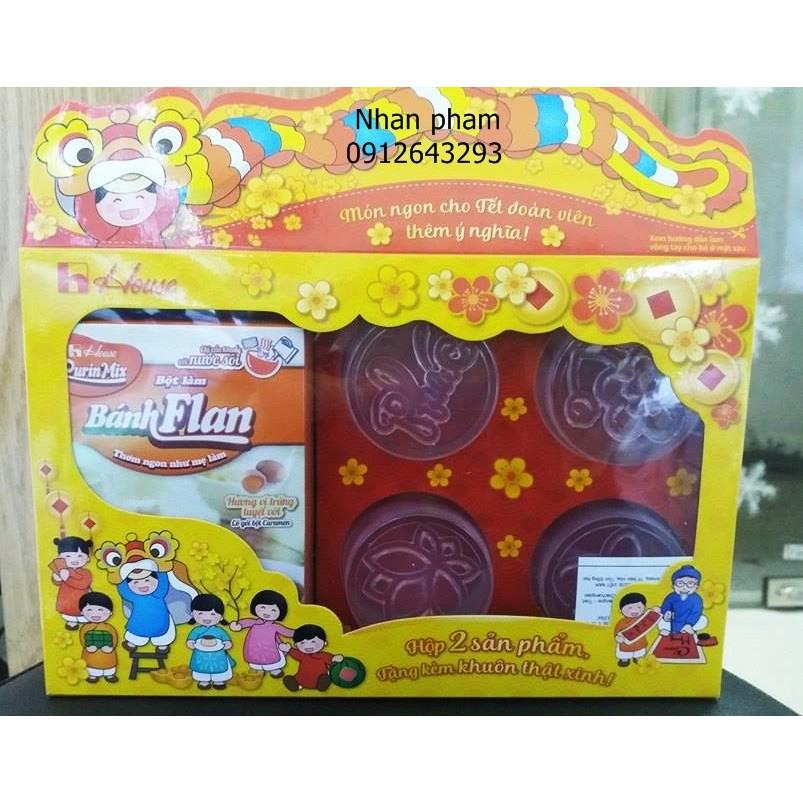 Sét quà tết Bột làm bánh Flan Nhật vị trứng - caramen - 2715268 , 115647229 , 322_115647229 , 40000 , Set-qua-tet-Bot-lam-banh-Flan-Nhat-vi-trung-caramen-322_115647229 , shopee.vn , Sét quà tết Bột làm bánh Flan Nhật vị trứng - caramen
