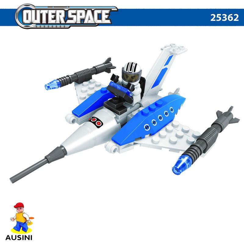 Bộ đồ chơi lắp ráp khám phá không gian Ausini 25362 - 69 mảnh
