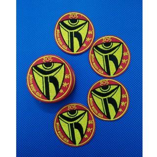 [Thêu Sắc Nét] Logo Bình Định Gia, Tem, Sticker, thêu trên vải dày dặn, may vào ngực áo Võ phục, balo, túi xách