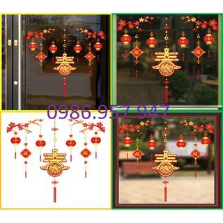 Decal trang trí tết mẫu tiểu sửu_TET168