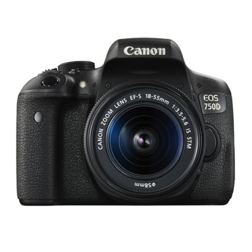 Canon EOS 750D 24MP với Lens kit EF-S 18-55 IS...