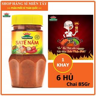 Khay 6 hủ Sa tế nấm Thuận phát loại 85g