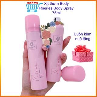 Xịt thơm Body Rseries Body Spray 75ml, xịt thơm toàn thân – Azeva