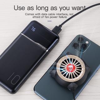 Hình ảnh [Mã CBEL06 giảm 20% đơn 50k] KUULAA Quạt Tản Nhiệt Có Đèn Led Cho for Xiaomi Iphone Samsung-4