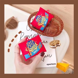 CREATIVE Vỏ Silicone Bảo Vệ Hộp Đựng Tai Nghe Airpods Pro 2 / 3 Hình Bánh Sandwich Xinh Xắn