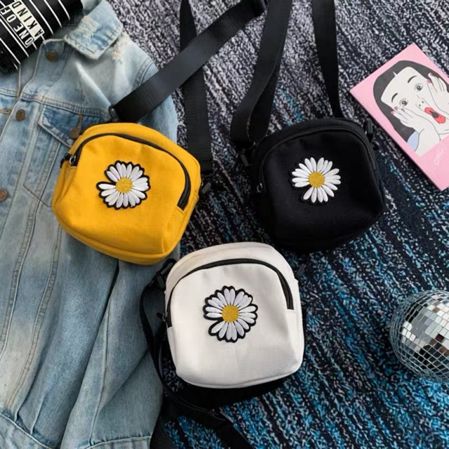 Túi xách tote vải đeo chéo nữ đẹp 2020 AKIND TV06
