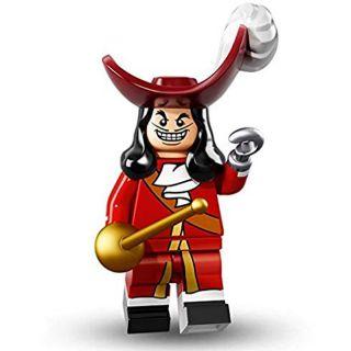 LEGO Minifigues Thuyền Trưởng Hook- LEGO Disney Series – LEGO Captain Hook (71012)