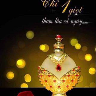 Tinh dầu nước hoa Dubai cao cấp 35ml Nữ hoàng Đỏ nổi tiếng Thế giới