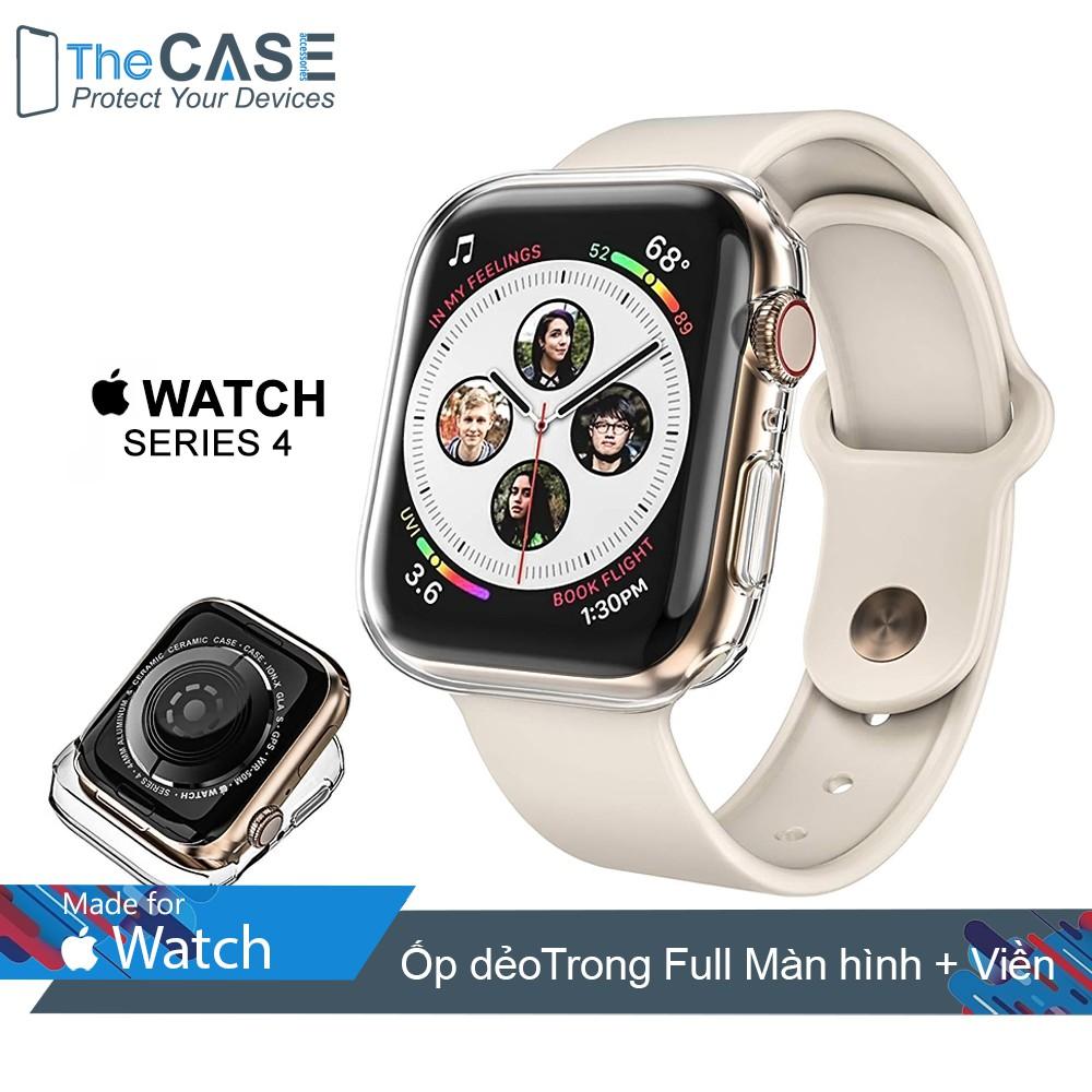 Ốp dẻo Apple Watch Series 4 Full Màn hình và Viền (size 40mm/44mm, The Case)