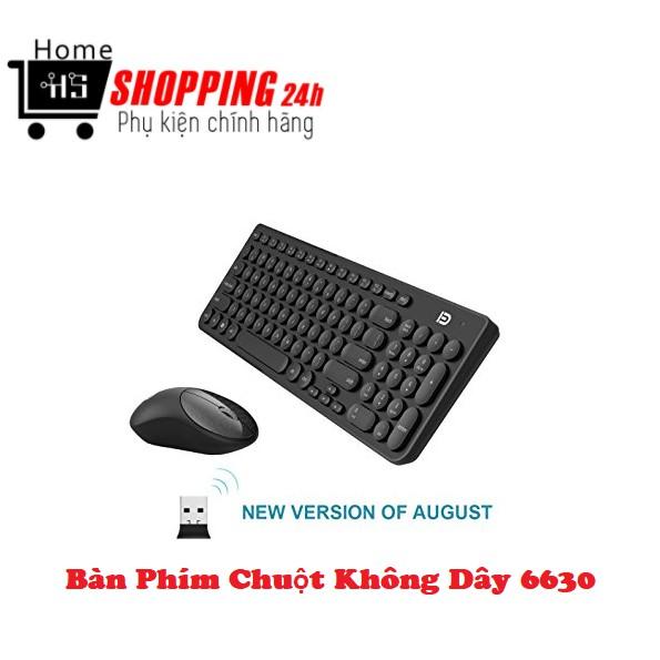 Combo Phím Chuột Không Dây IK 6630 [Homeshopping4H]