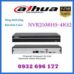 Đầu ghi hình camera IP 8 kênh DAHUA NVR2108HS-4KS2 - DAHUA NVR2108HS-4KS2