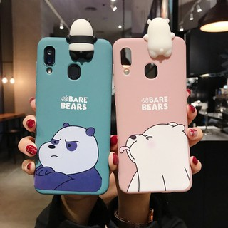 Ốp điện thoại TPU mềm in hình We Bare Bears Cartoon WBB Printed cho Samsung A10S A20S A21s A30S A50S A50 A30 A20 A11 A51 M30S M21 | HSN 10-12