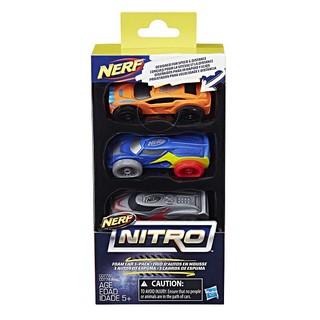 Đồ chơi Hasbro Bộ 3 Xe Sơ Cua Thể Thao 2 Nerf Nitro C0777/C0774
