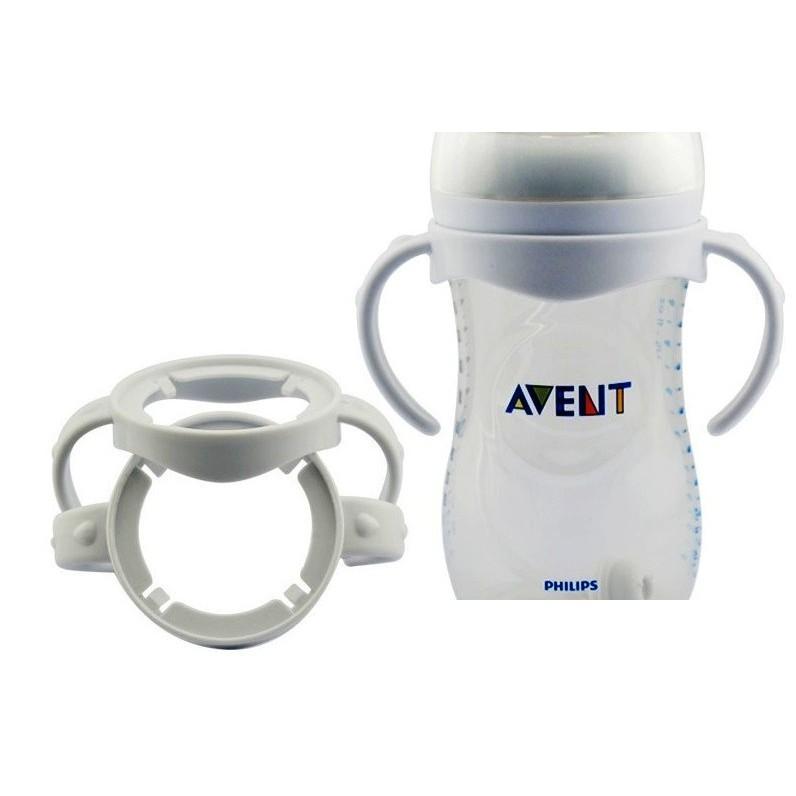 [Mã 267FMCGSALE giảm 8% đơn 500K] Tay cầm cổ rộng Avent Natural , Dr Brown - phụ kiện cho bình sữa , bình nước