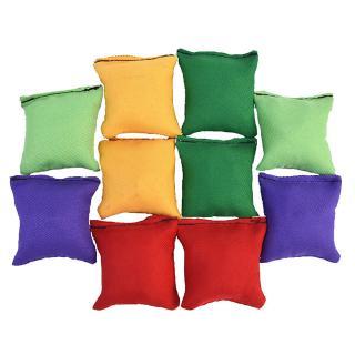 [meet]10 Pcs Sandbags Bean Bags Kids Toss Game Carnival Toy