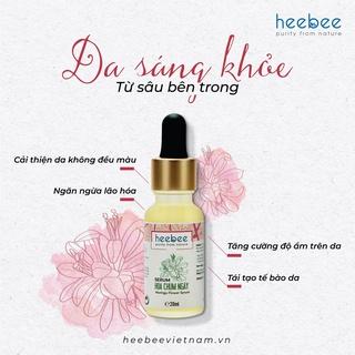Serum Hoa Chùm Ngây Heebee dưỡng trắng, chống lão hóa, tái tạo da tự nhiên 20ml thumbnail