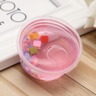 60ml Non Toxic Pink Snowflake Fairy Slime Crystal Mud Sludge Girl DIY Play Dough