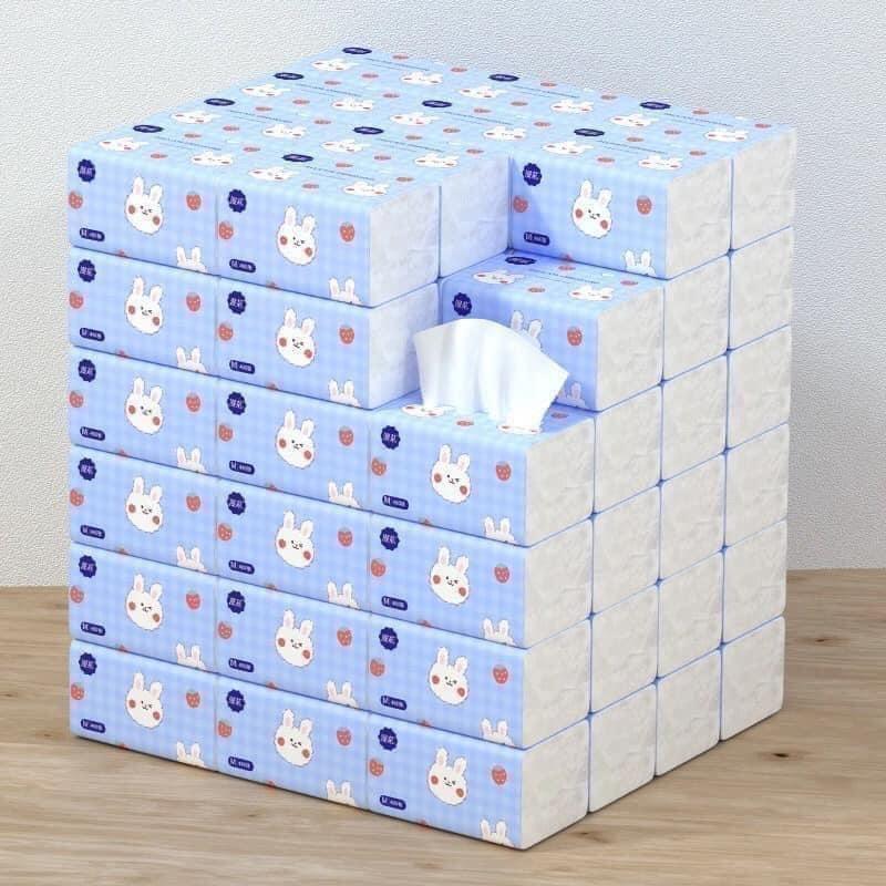 THÙNG 40 GÓI GIẤY ĂN THỎ TRẮNG SIÊU DAI - NỘI ĐỊA TRUNG QUỐC - Khăn giấy ăn  Thương hiệu No Brand | DoGiaDungTot.com
