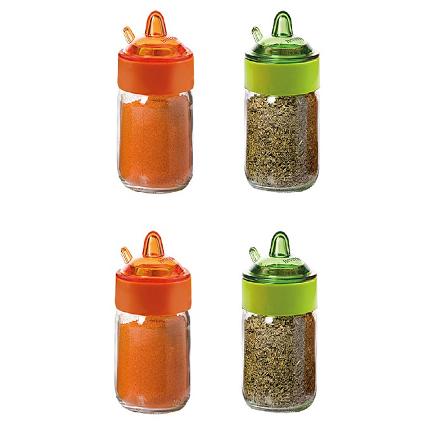 Bộ 4 lọ gia vị Sauce Spice Jar Herevin 131505 - 200ml