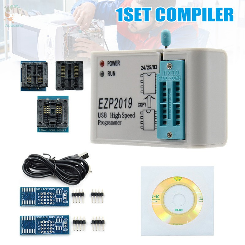 [BEST] High Speed Programmer SPI Support 24 25 26 EEPROM Automatic Offline Copy