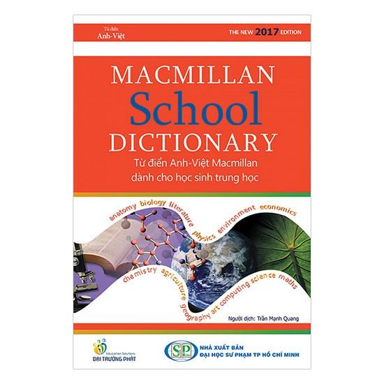Từ Điển Anh Việt Macmillan School Dictionary