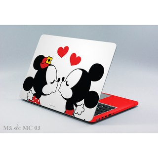 Decal laptop – ipad couple mickey 019u