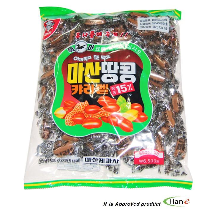 Kẹo Caramel Đậu Phộng Masan Hàn Quốc
