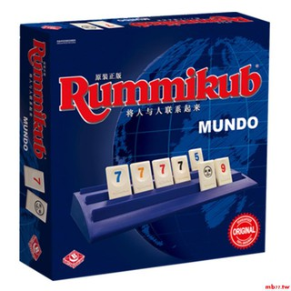 bộ bài rummikubdo israel mahjung