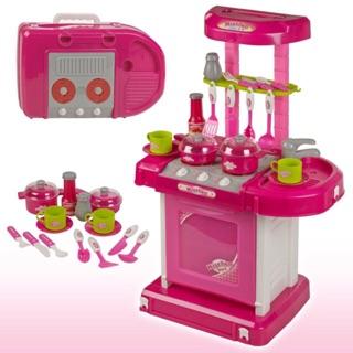 Bộ đồ chơi nhà bếp kitchen có âm thanh và đèn
