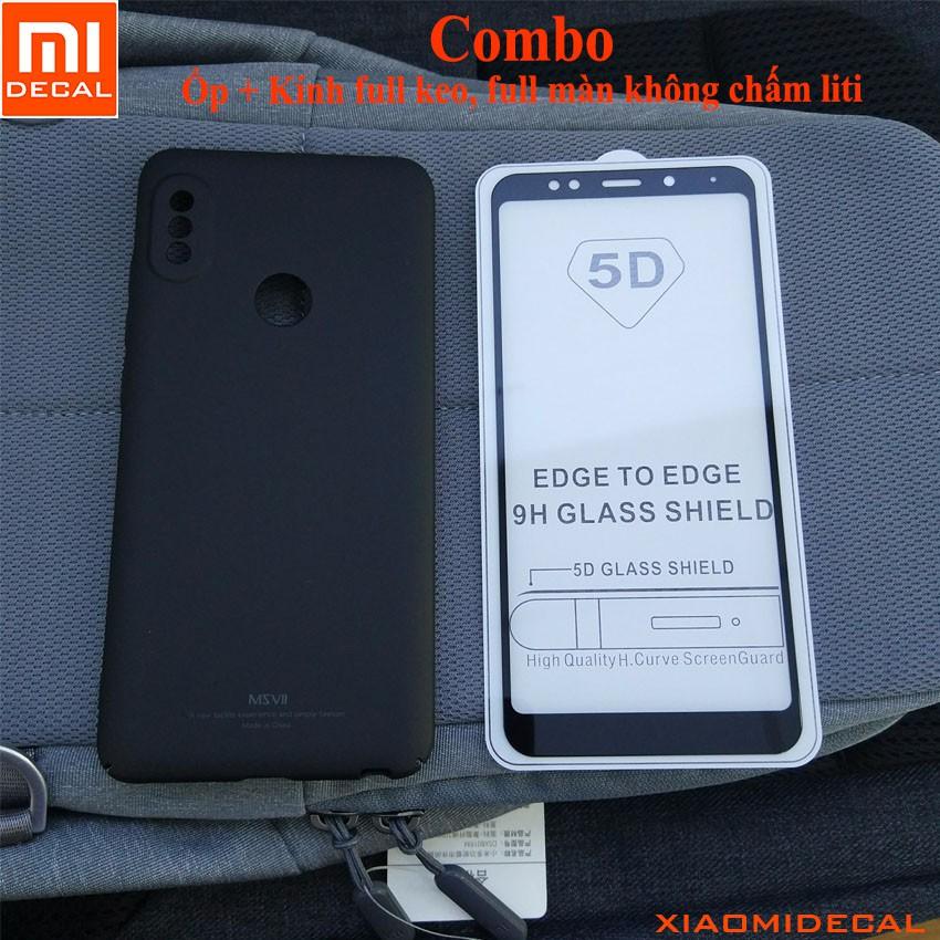 [ Redmi Note 5 Pro] Ốp lưng cao cấp và kính cường lực 5D full màn hình (Ốp & Kính Đen) - 3383116 , 1090180212 , 322_1090180212 , 110000 , -Redmi-Note-5-Pro-Op-lung-cao-cap-va-kinh-cuong-luc-5D-full-man-hinh-Op-Kinh-Den-322_1090180212 , shopee.vn , [ Redmi Note 5 Pro] Ốp lưng cao cấp và kính cường lực 5D full màn hình (Ốp & Kính Đen)