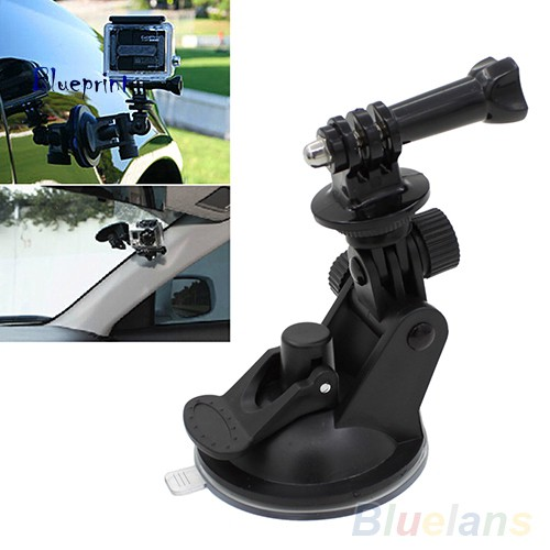 囍BPCar Window Windshield Glass Suction Cup Mount for GoPro 4 3 2 1 Action Camera