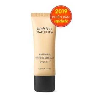 Innisfree eco natural greentea bb cream
