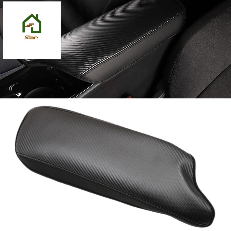 1 Piece Car Styling Interior Leather Armrest Box Protection Cover Cushion Pad for Toyota C-HR CHR 20