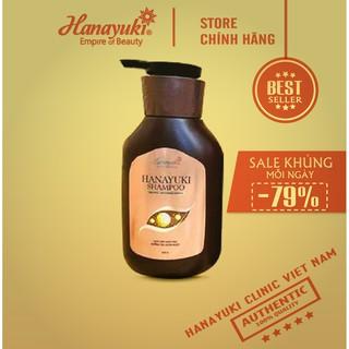 [SALE SHOCK] ❤️FREE SHIP❤️HANAYUKI - Siêu dầu gội hana shampoo CHINH HANG 100% - HANAYUKI CLINIC