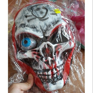 Mặt nạ đầu lâu Halloween 1 mất 1 còn ( con mắt) shop vietvan02