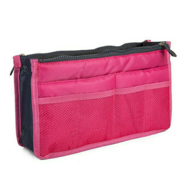 Túi bag in bag nhiều ngăn giúp chia ngăn trong túi xách