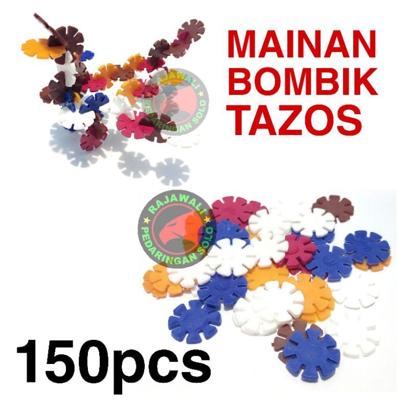 Bộ 150 mô hình đồ chơi MINI TAZOS