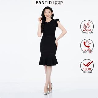 Đầm Len cổ ôm không tay FOL158 - PANTIO thumbnail