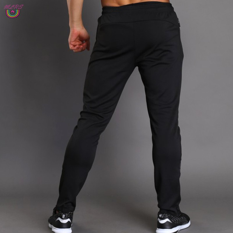 MS Men Sport Pants Trousers Breathable Casual for Running Training Fitness Summer &VN