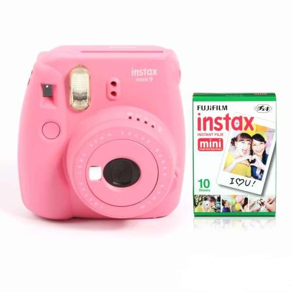 Máy ảnh Fujifilm Ínstax Mini 9 Hồng (Hàng chính hãng)