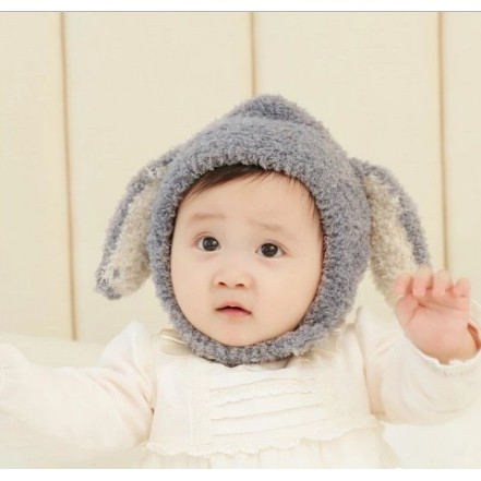[ MŨ CHO BÉ ] Mũ len tai cừu cài cúc , mũ len lông cừu cho bé trai bé gái cực đẹp