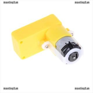 {maoting3.vn}3-6V Bend of Uniaxial Gear TT Motor Deceleration Motor Gearbox DC Geared Motor